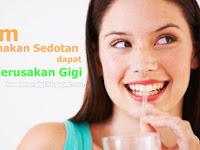 Ternyata Minum Menggunakan Sedotan dapat Mencegah Kerusakan Gigi