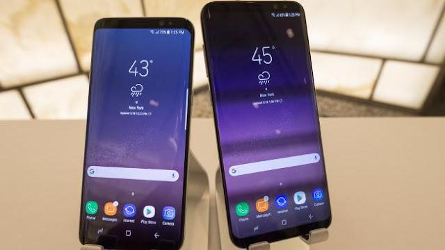 Cara Screenshot Layar Samsung Galaxy S8 dan S8 Plus