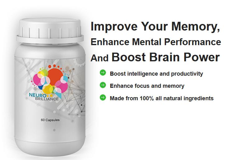 Neuro Brilliance - Memory Supplement
