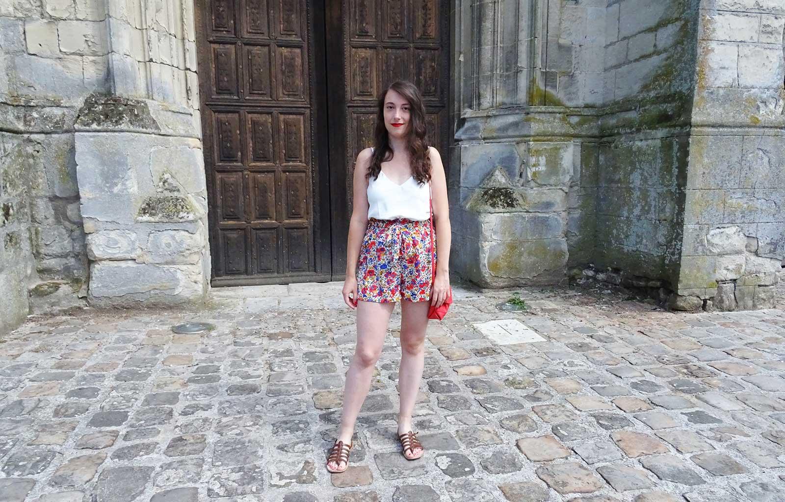 Look short fleuri SHEIN