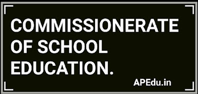 COMMISSIONERATE OF SCHOOL EDUCATION.