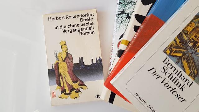 Lieblingsbuch Herbert Rosendorfer Briefe in die chinesische Vergangenheit