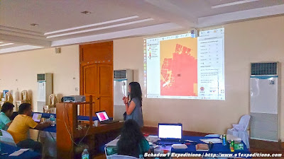 Inasafe - Lubao Disaster Risk Reduction Map-up training ESSC OSMPH Schadow1 Expeditions
