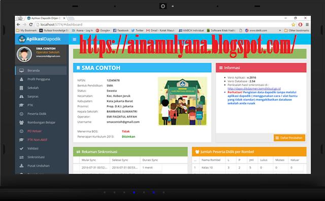 Menindaklanjuti beberapa laporan terkait adanya bugs pada Aplikasi Dapodik versi  APLIKASI DAPODIK VERSI 2021A, APLIKASI DAPODIK 2021 DAN PANDUAN APLIKASI DAPODIK 2021