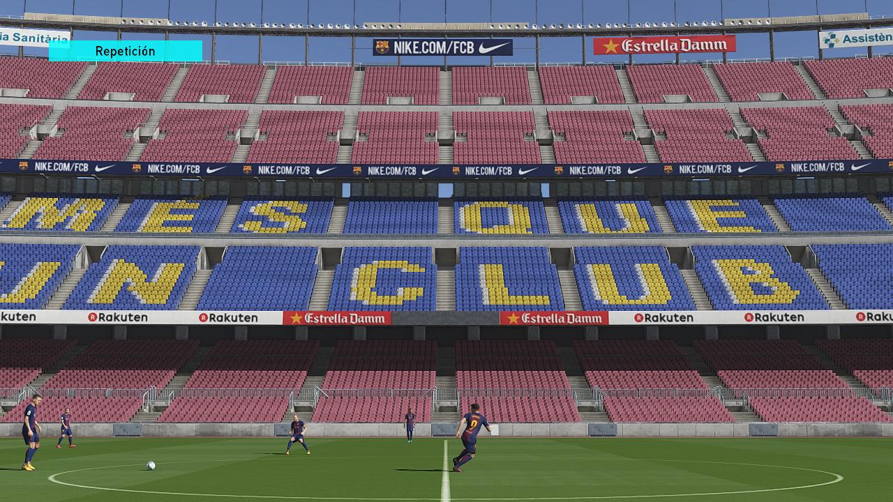 PES 2018 Camp Nou Mod by Txak