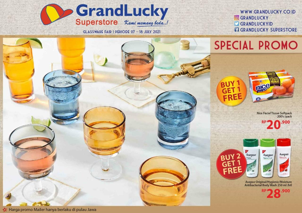 Katalog Promo Grand Lucky Superstore 7 - 18 Juli 2021