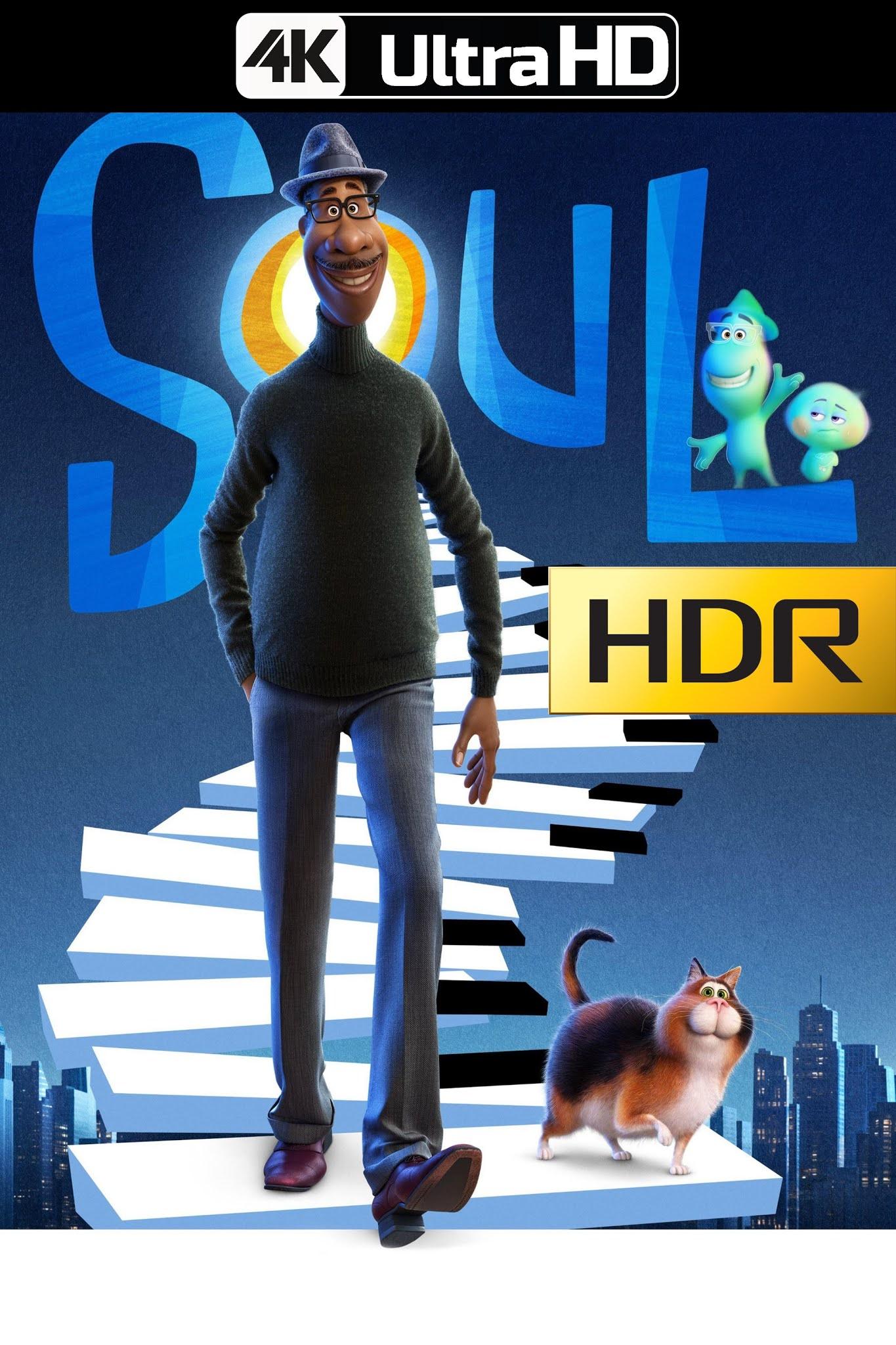 Soul (2020) 4K UHD HDR WEB Latino
