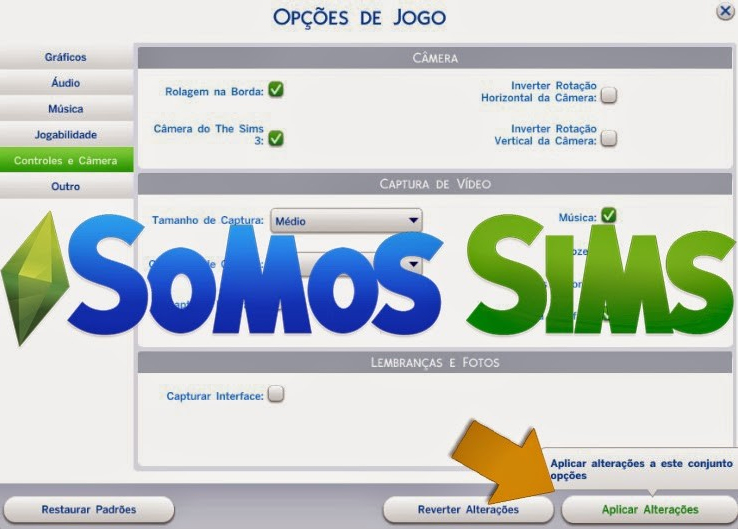 how to buy a camera in sims 3