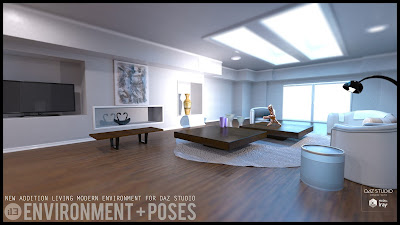 i13 NEW Addition Living Environment with Poses