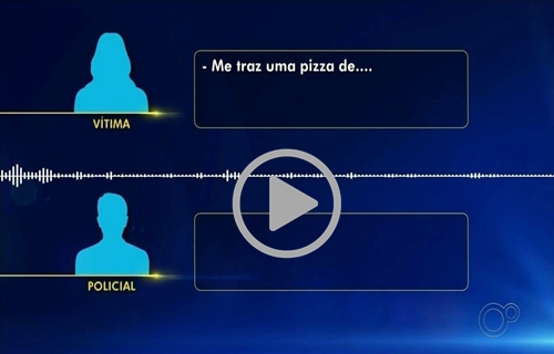 Áudio mostra pedido de socorro de mulher que ligou para a PM 'pedindo pizza'; ouça