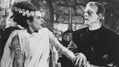 Bride of Frankstein 1935 movie still Boris Karloff Elsa Lanchester