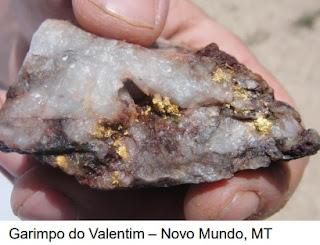 Estudo completo sobre mineralização aurífera