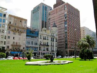 Downtown Montevideo Uruguay