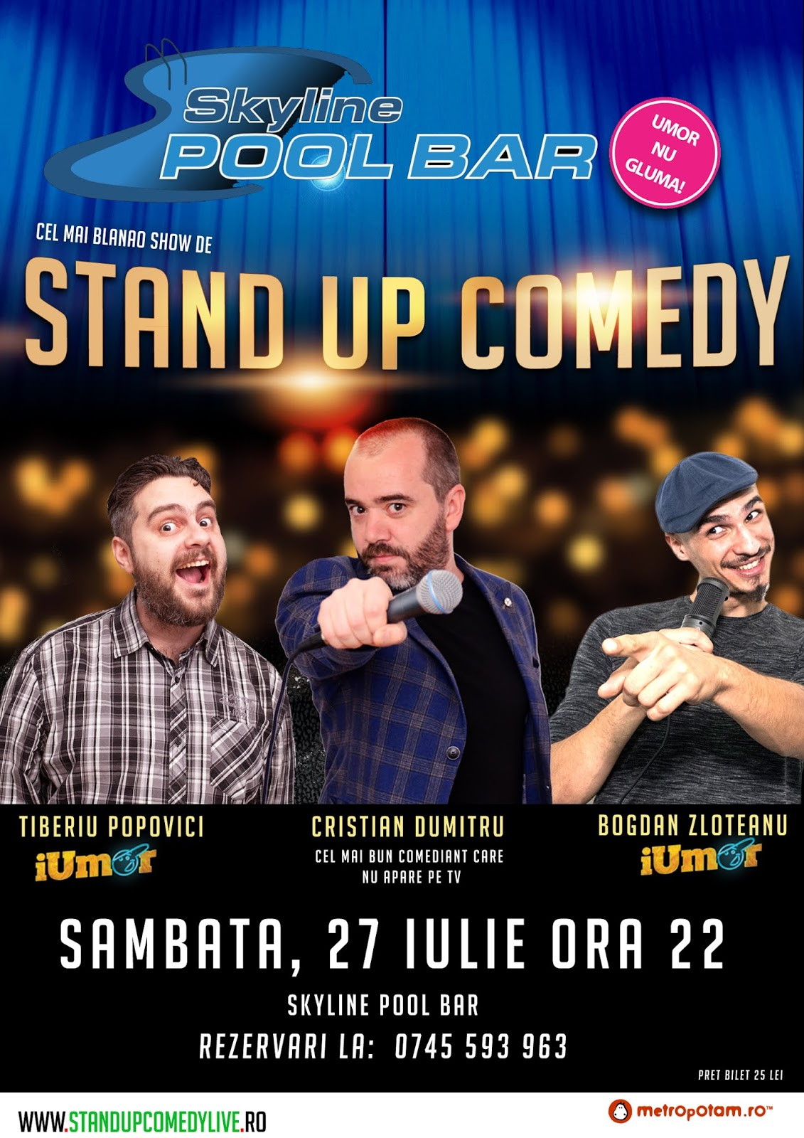 Stand-Up Comedy Show Sebes
