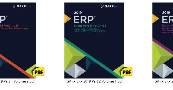 ERP 2019 - G A R P PART I & II - Finance Study Notes