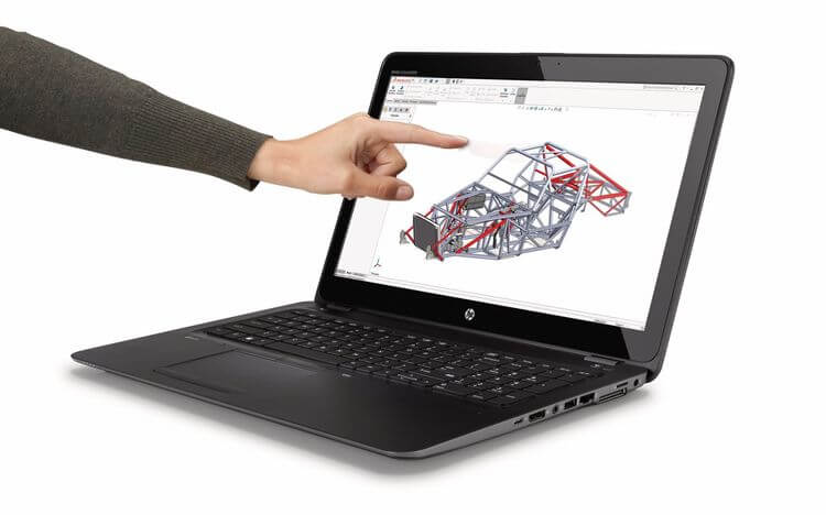 HP ZBook 15u G4 is donating a flat mobile workstation to a Kaby Lake upgrade
