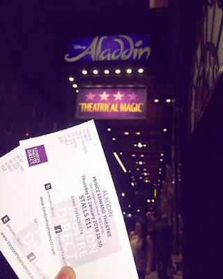 Aladdin show London