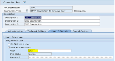 Data Loading to HANA using DXC Connection