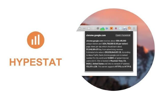 HypeStat - Στατιστικά επισκεψιμότητας για κάθε ιστοσελίδα