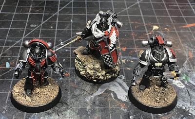 Horus Heresy Dark Angels Command Squad Veterans