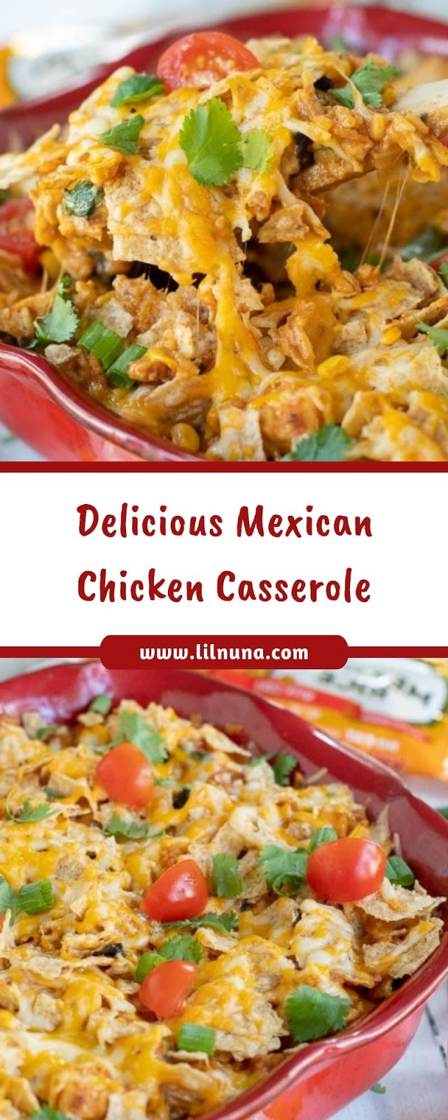 Delicious Mexican Chicken Casserole