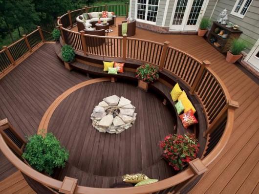 wood deck designs - Wood Deck Design Ideas
