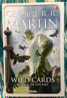 Portada del libro Wild Cards. El viaje de los ases, de varios autores