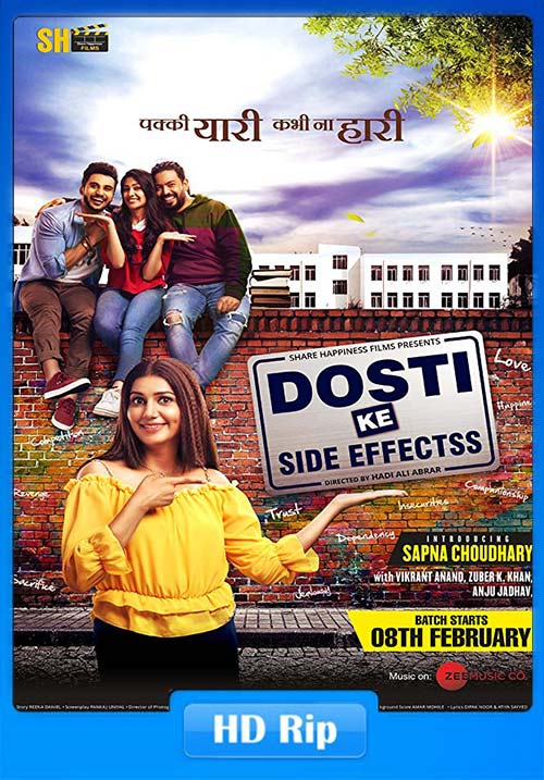 Dosti ke Side Effects 2019 Hindi 720p HDRip x264 | 480p 300MB | 100MB HEVC