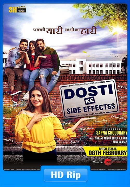 Dosti ke Side Effects 2019 Hindi 720p HDRip x264   480p 300MB   100MB HEVC Poster