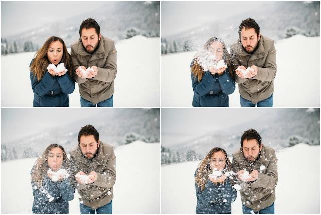 [Inspiration Shoot] Il freddo e la neve: uno scenario perfetto per scatti romantici