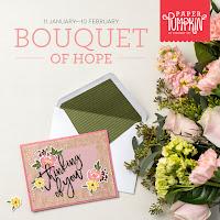February 2021 Bouquet of Hope Paper Pumpkin Kit Sneak Peek