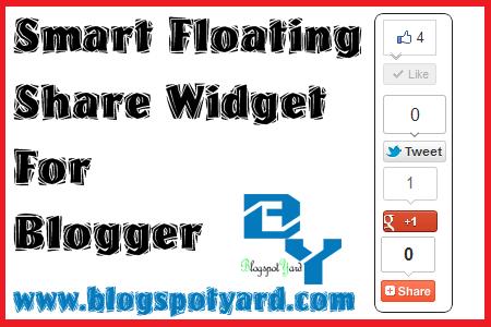 floating share widget
