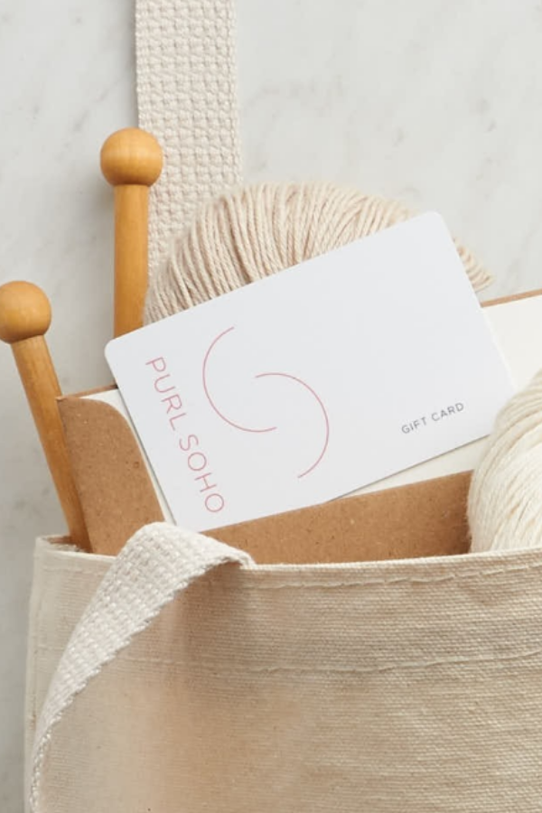 Purl Soho Gift Card | 2019 Holiday Gift Guide for Modern Quilters | Shannon Fraser Designs #holidaygiftguide #christmasgiftideas #quilters #sewers