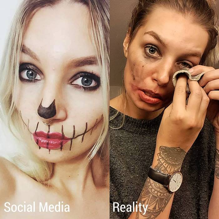 "Instagram vs Reality | Girl Humorously Shows  How ""ideal"" Photos Are Actually Created"