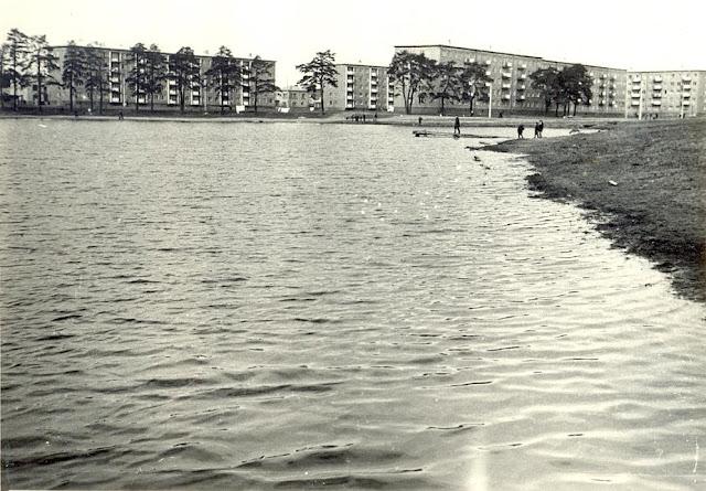 Начало 1970-х годов. Рига. Югла-3 и Velnezers