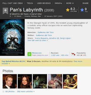 Pans labyrinth imdb