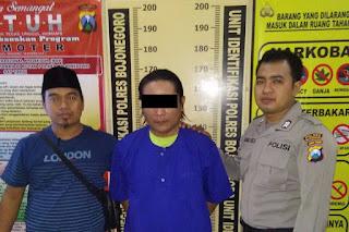 Pencuri Di Konter HP Diringkus Polisi Setelah Jadi DPO