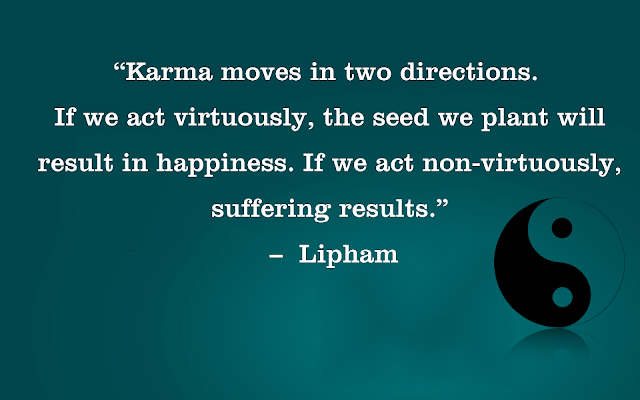 Karma Quotes by Lipham