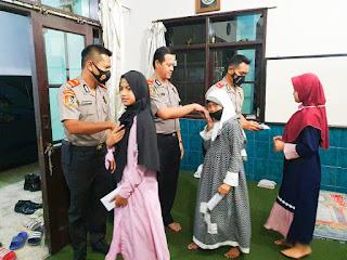 Pokjar VI Serdik Sespimmen 61 Beri Bantuan Sosial di Pesantren Sholahudin Al-Ayubi As-Safiah