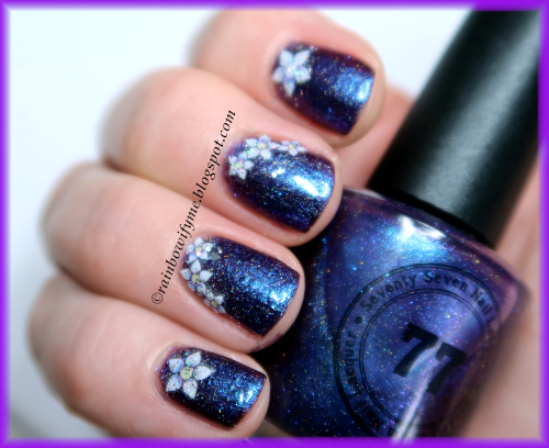 77 Nail Lacquer: Aliens?!
