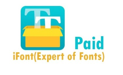 iFont (Expert of Fonts) Donate v5.9.8.4 [Paid] APK