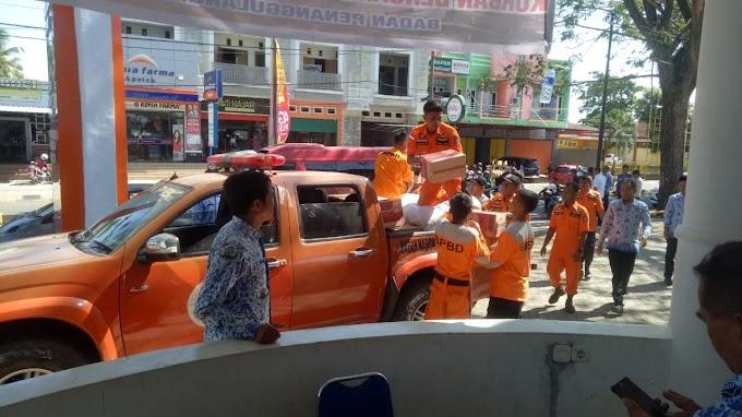 BPBD, Sediakan Posko Penyaluran, Korban Gempa