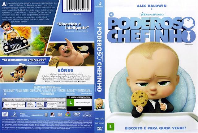 Capa DVD O Poderoso Chefinho (Oficial)