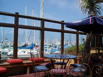 Venezia Italian Grill porch area redondo beach