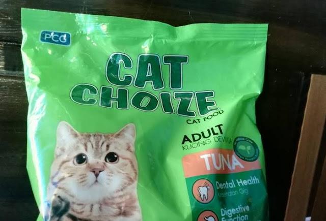Kelebihan Makanan Kucing Cat Choize