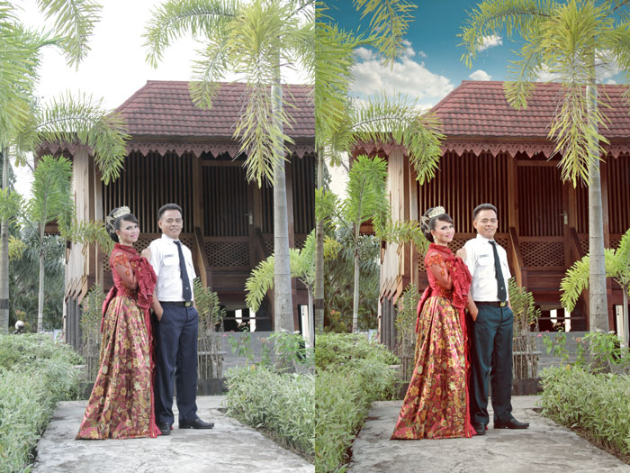 Tutorial photoshop | | Cara Edit Foto Prewedding ...