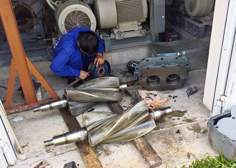 Sửa máy thổi khí Shinmaywa ARH 200S - KCN Thụy Vân