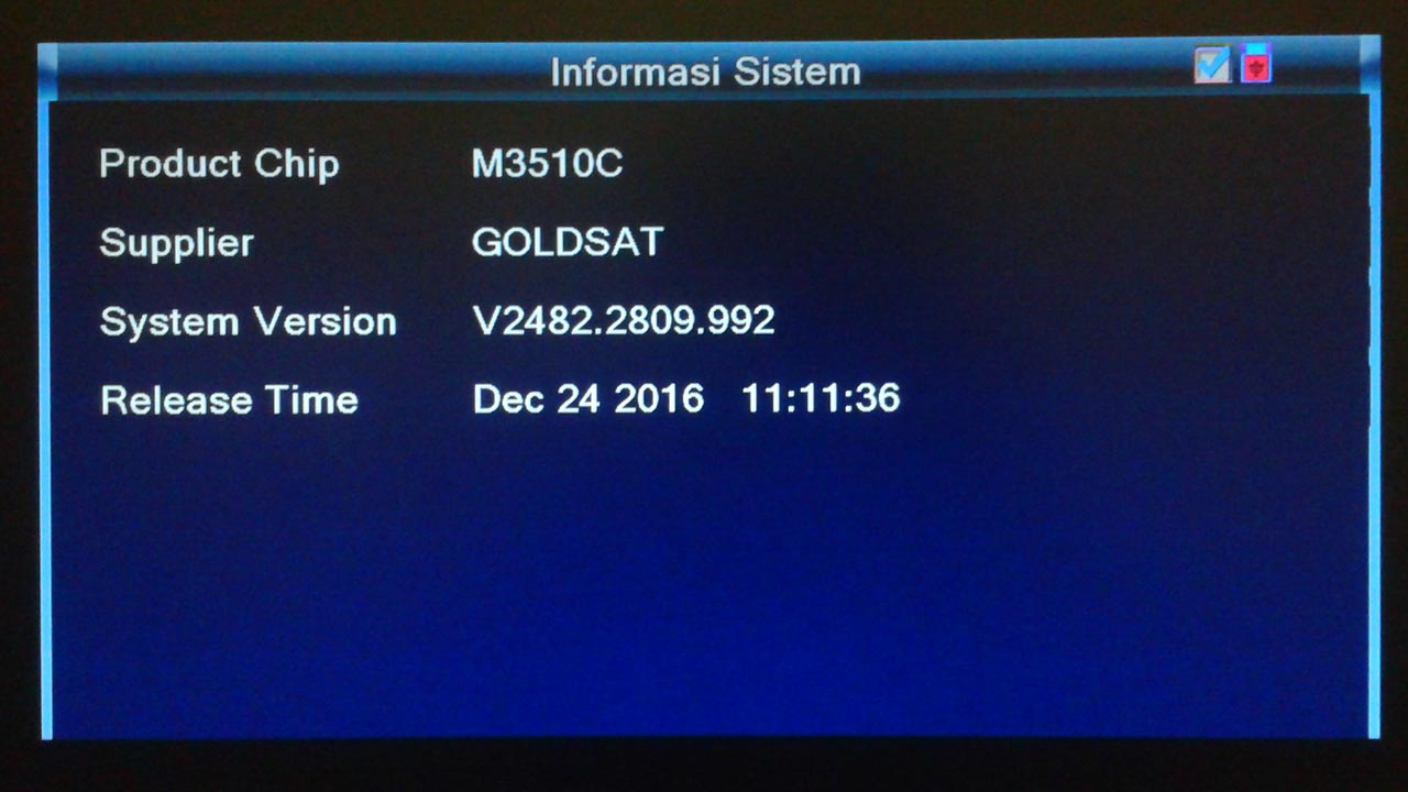 Firmware Receiver Goldsat Orchid HD SW Software Terbaru