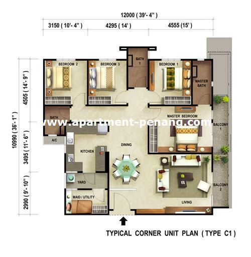 Condominium Apartment: Reflections Condominium