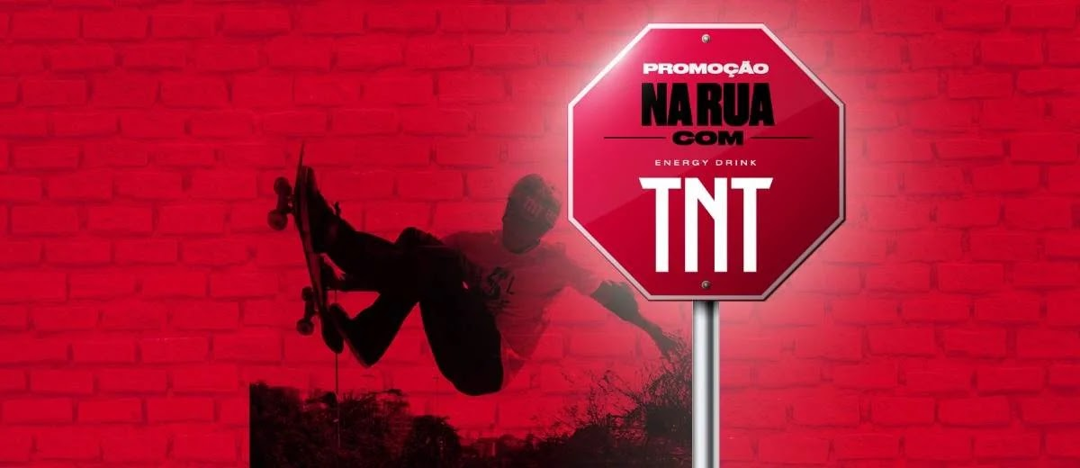 Promoção TNT Energy Drink 2020 Na Rua